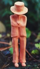 """Simone Sipply schuf diese PAUL-Figur zu dem Gedicht """"karriere"""""""