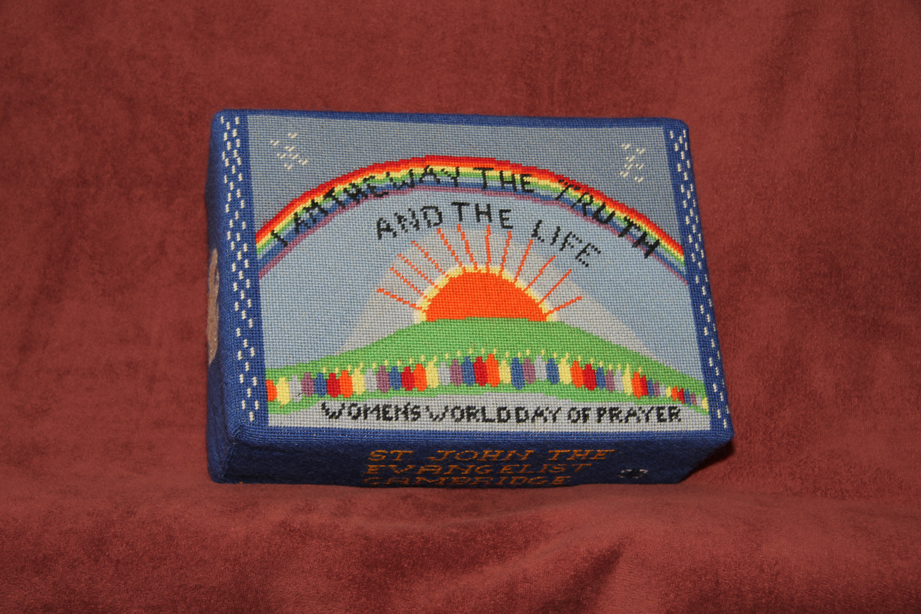 """65.  """"I am the Way, the Truth and the Life""""  dedicated to the Women's World Day of Prayer and worked by Beryl Johnson"""
