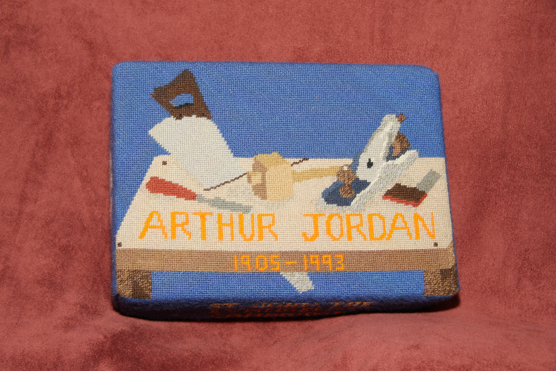 42.  Carpentry tools in memory of Arthur Jordan (1905-1993) donated and worked by Mrs Jordan (his widow)