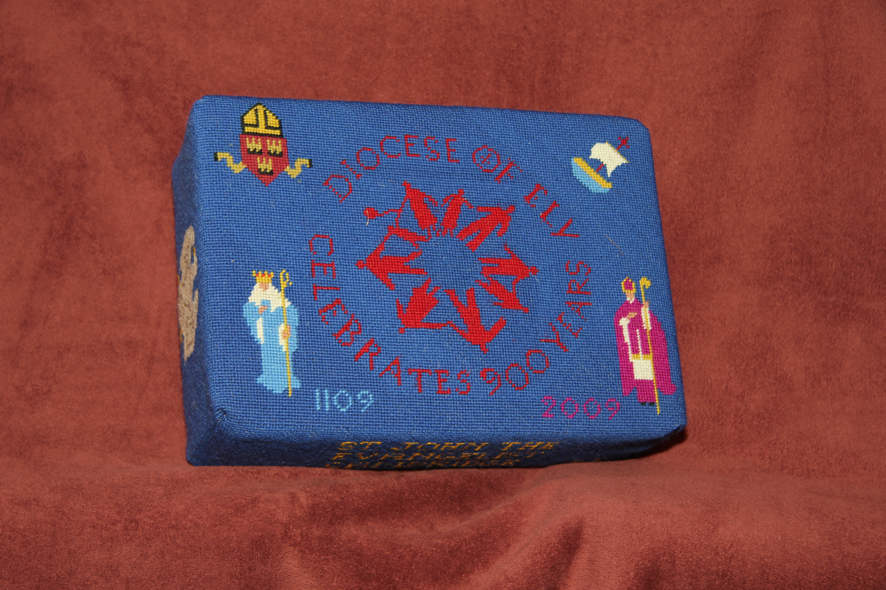 74. The Diocese of Ely celebrates 900 years (1109-2009) donated and worked by Beryl Johnson