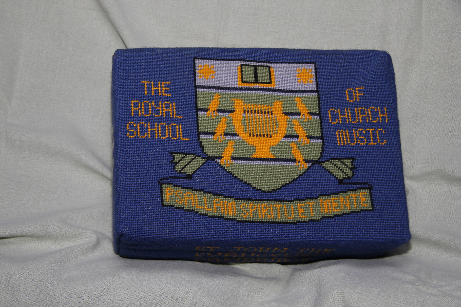 9.   Royal School of Church Music – donated and worked by  Helen Burrell