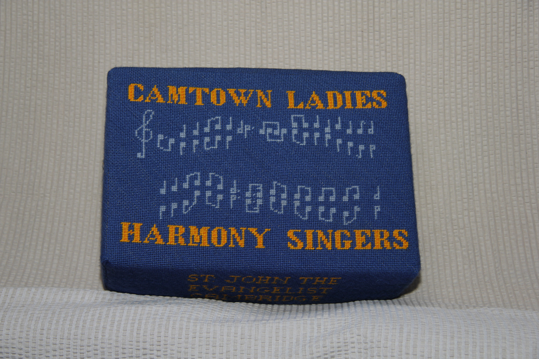 21. Camtown Ladies Harmony Singers – donated by them and worked by Beryl Johnson