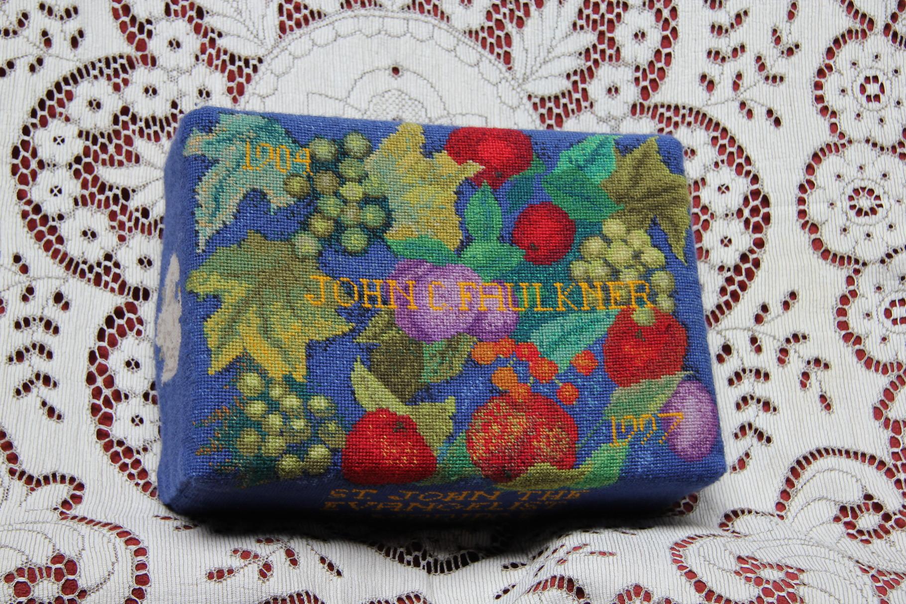45.  Fruit:  in memory of John C. Faulkner (1909-1997) worked by Joy Barker