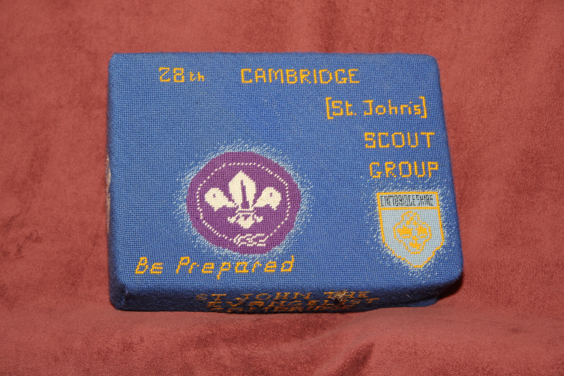 """60.  """"Be Prepared""""  28th Cambridge Scout Group"""