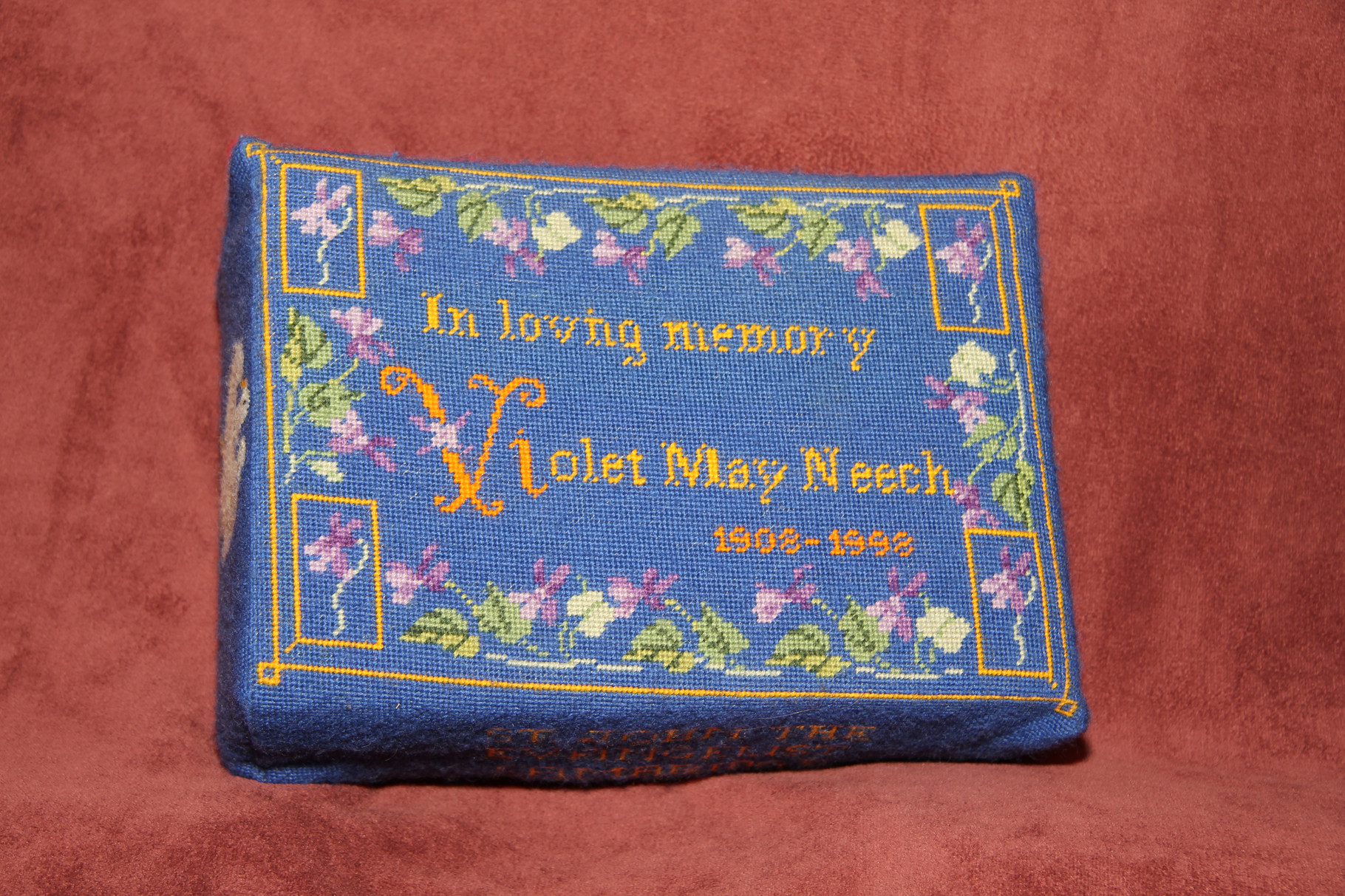 47. Flower Borders in memory of Violet May Neech  (1908-1998) donated by Eddie Neech and worked by Carol Hatfield