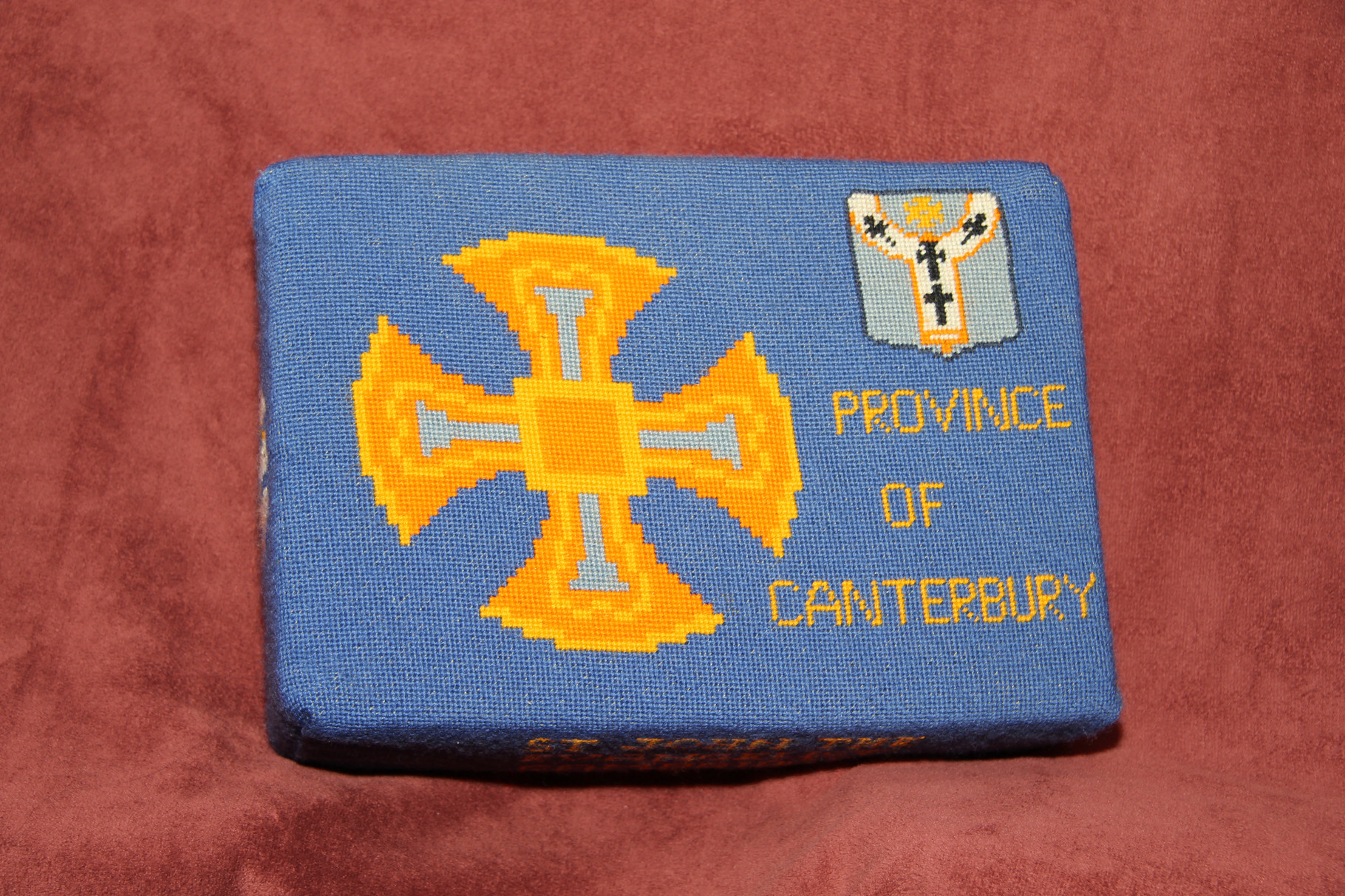 26. Province of Canterbury   Cross and Shield – donated and worked by Bridget Garton