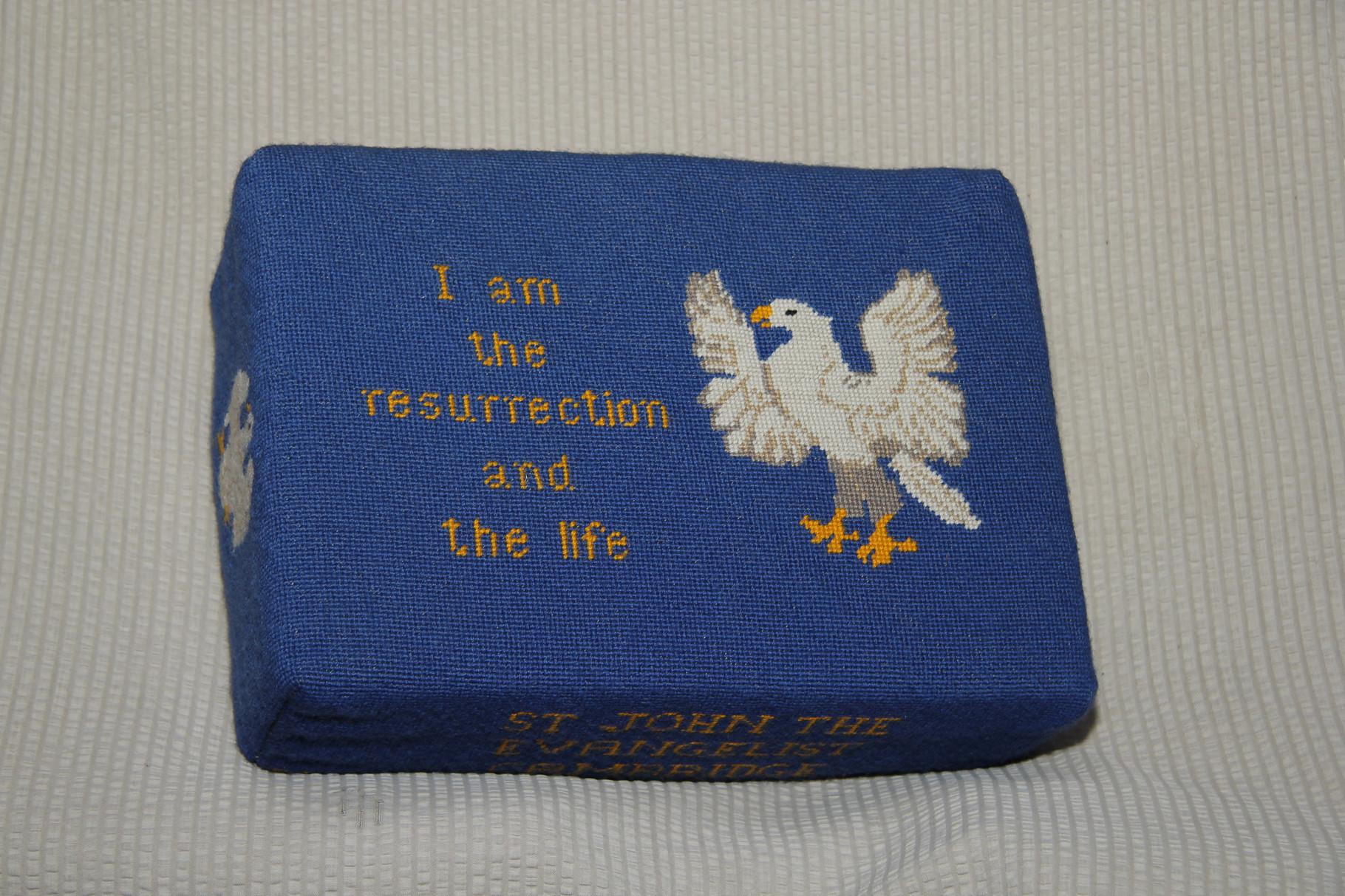 6. Eagle (St John) in memory of Rev. Joseph N. Sanders  (1913-1961) donated and worked by Dorothy Sanders