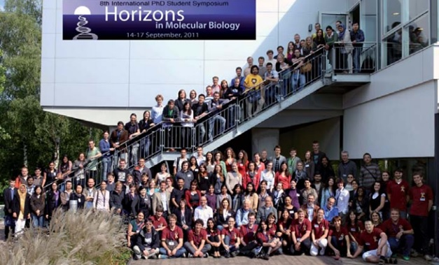 Organizers and participants of Horizons in Molecular Biology 2011