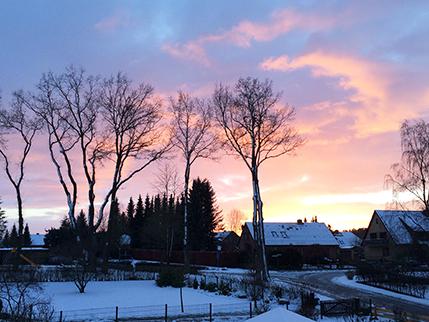 Radenbeck im Winter