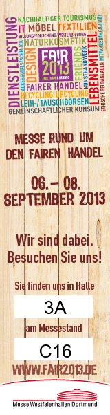 Fair Trade & Friends Messe Dortmund