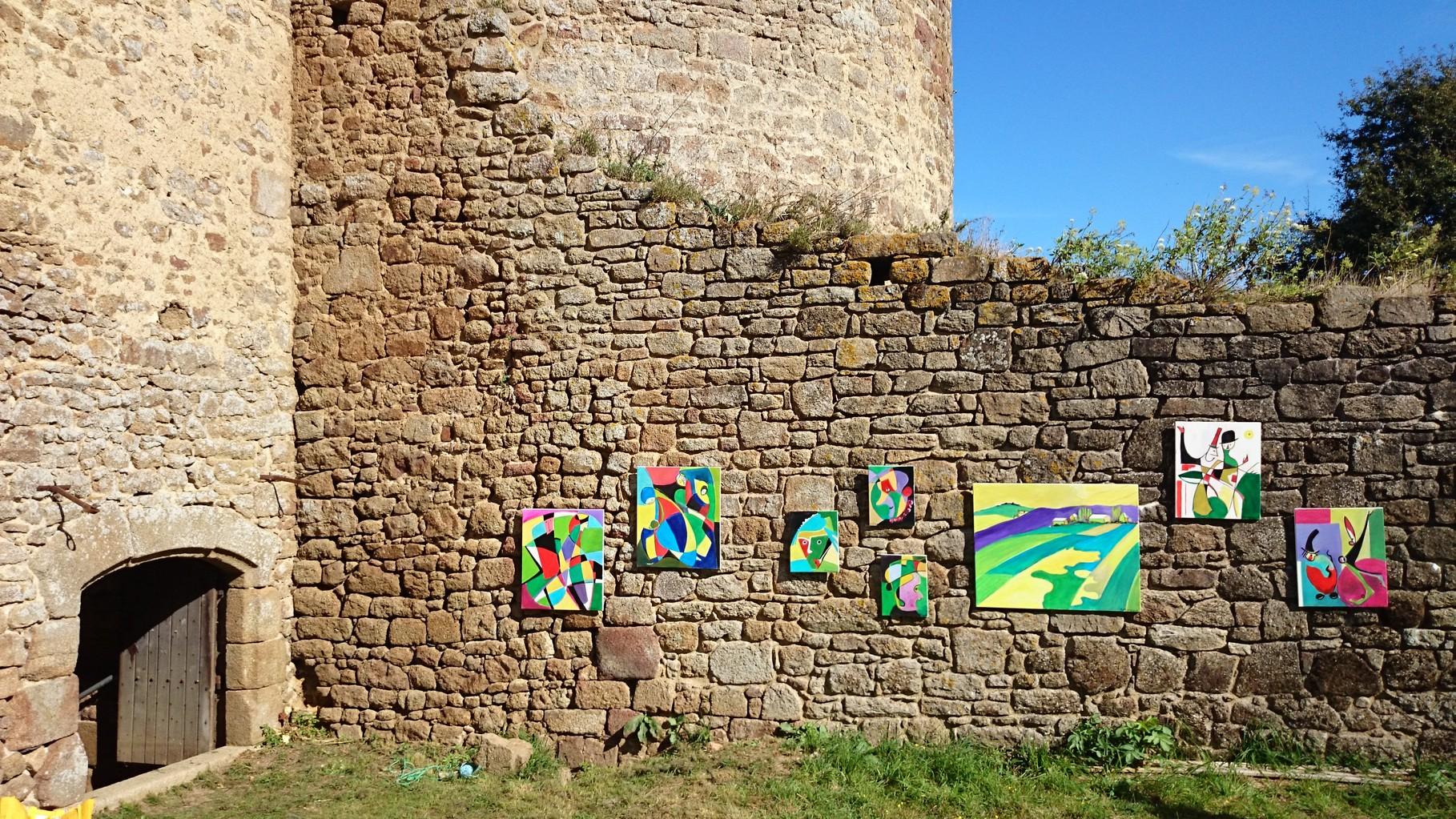 Peintures du Père Bernard Chardon, exposées Samedi 20 Septembre au Château