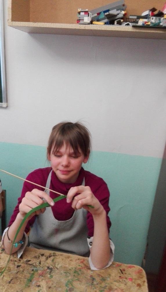 Ивусова Василиса единственная девочка, которая занимается в нашем объединении 4 год