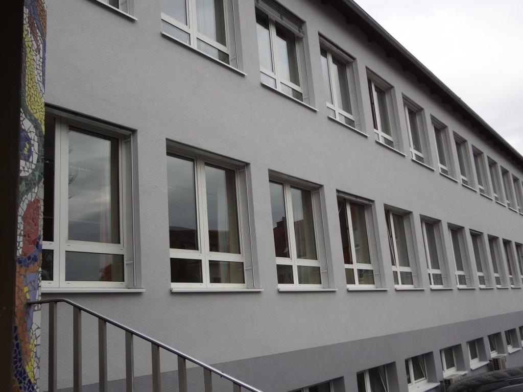 Neue schöne Fassade