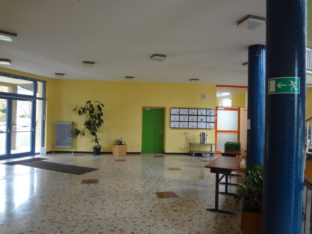 Eingangsbereich, Aula