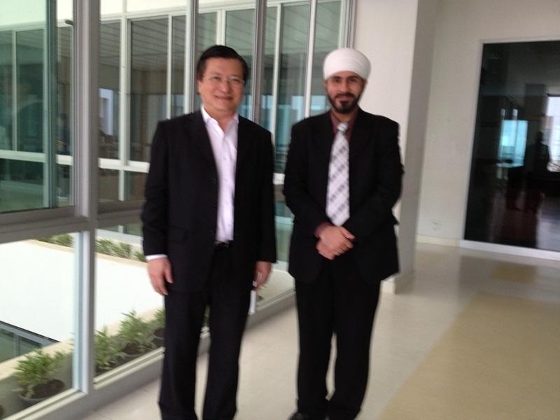 With Dr. Krieangsak, Former Member Democrat Party