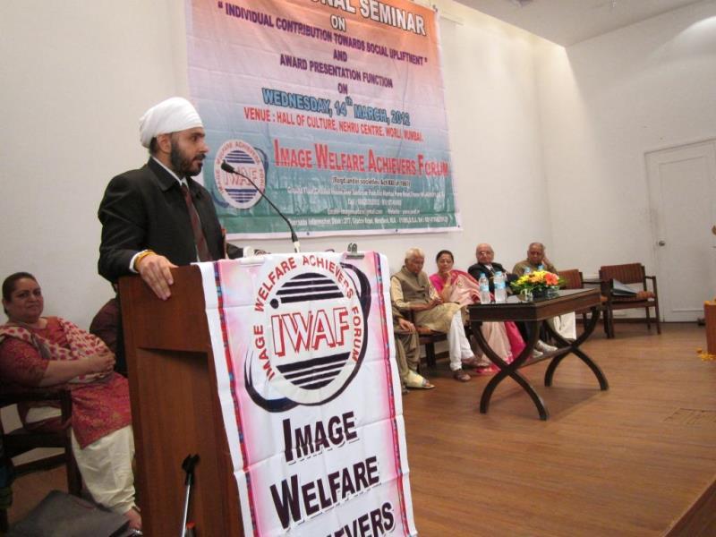 Speak at Hall of Culture, Nehru Center Mumbai