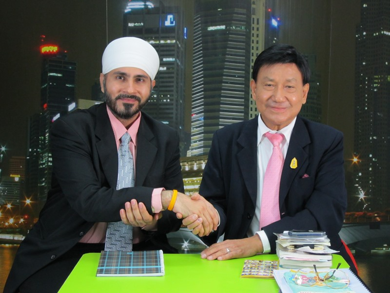 On TV Program with Dr. Suthin Noppakate