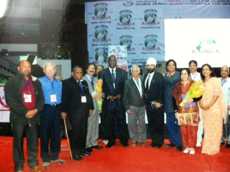 Thai-India Ambassador of Peace, All India Human Right