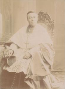 Mgr Bardel, évêque auxiliaire de   Bourges (août 1894)