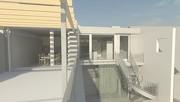 Ansicht Terrasse Gartenseite Bastiengasse 55