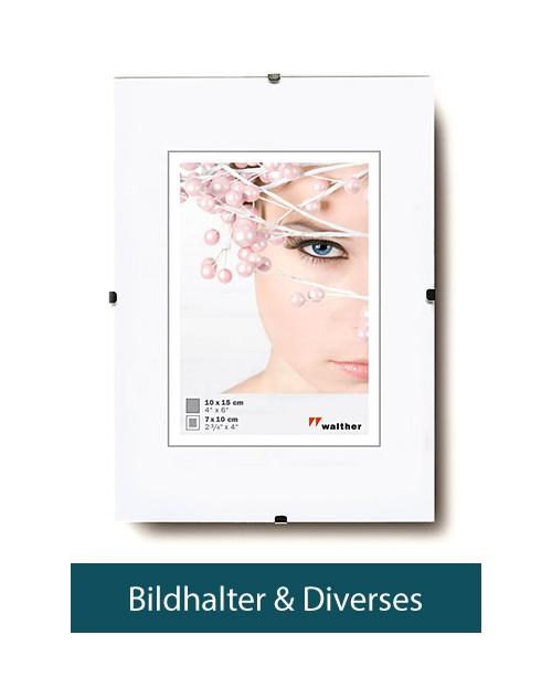 Bildhalter + Diverses