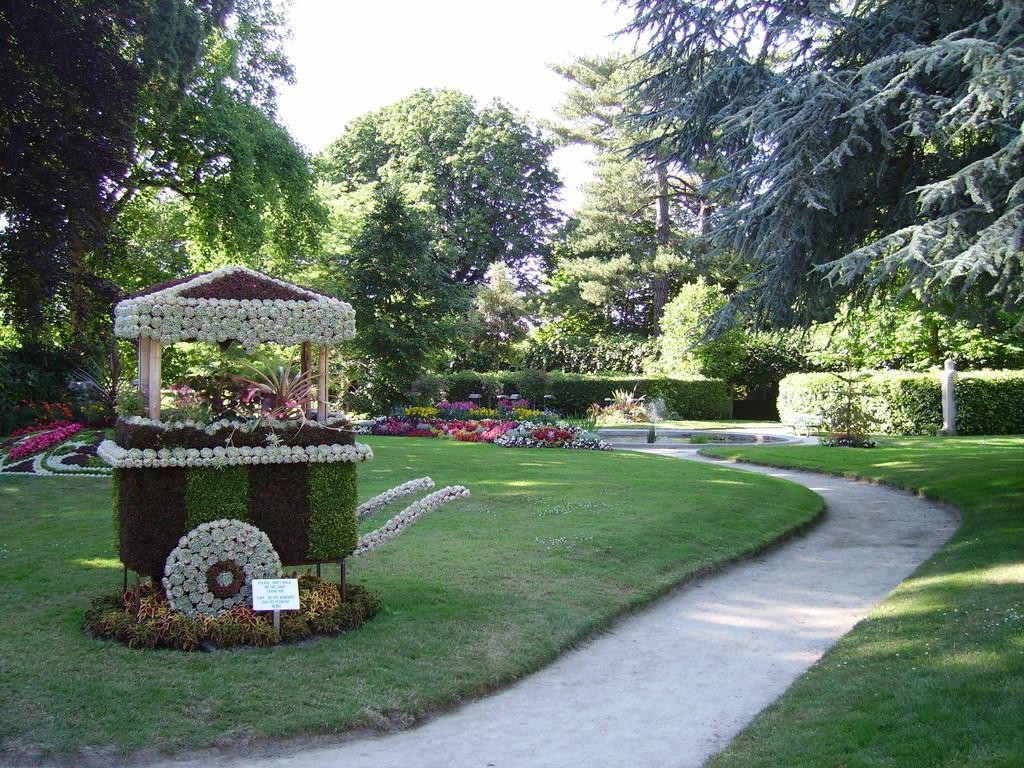 Le jardin botanique de Coutances à 20 mn