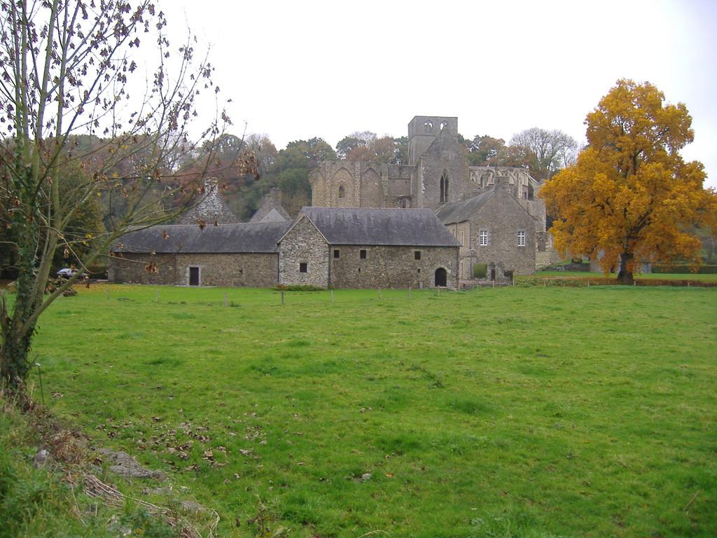 L'Abbaye d'Hambye à 7 mn