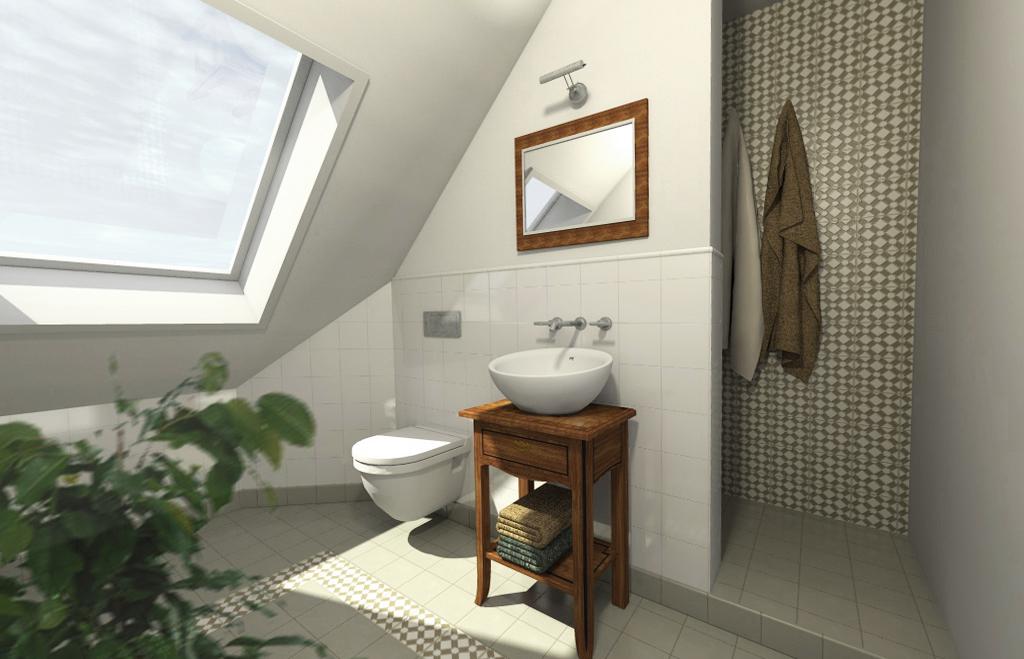 Planung eines Gäste-WC in Köln