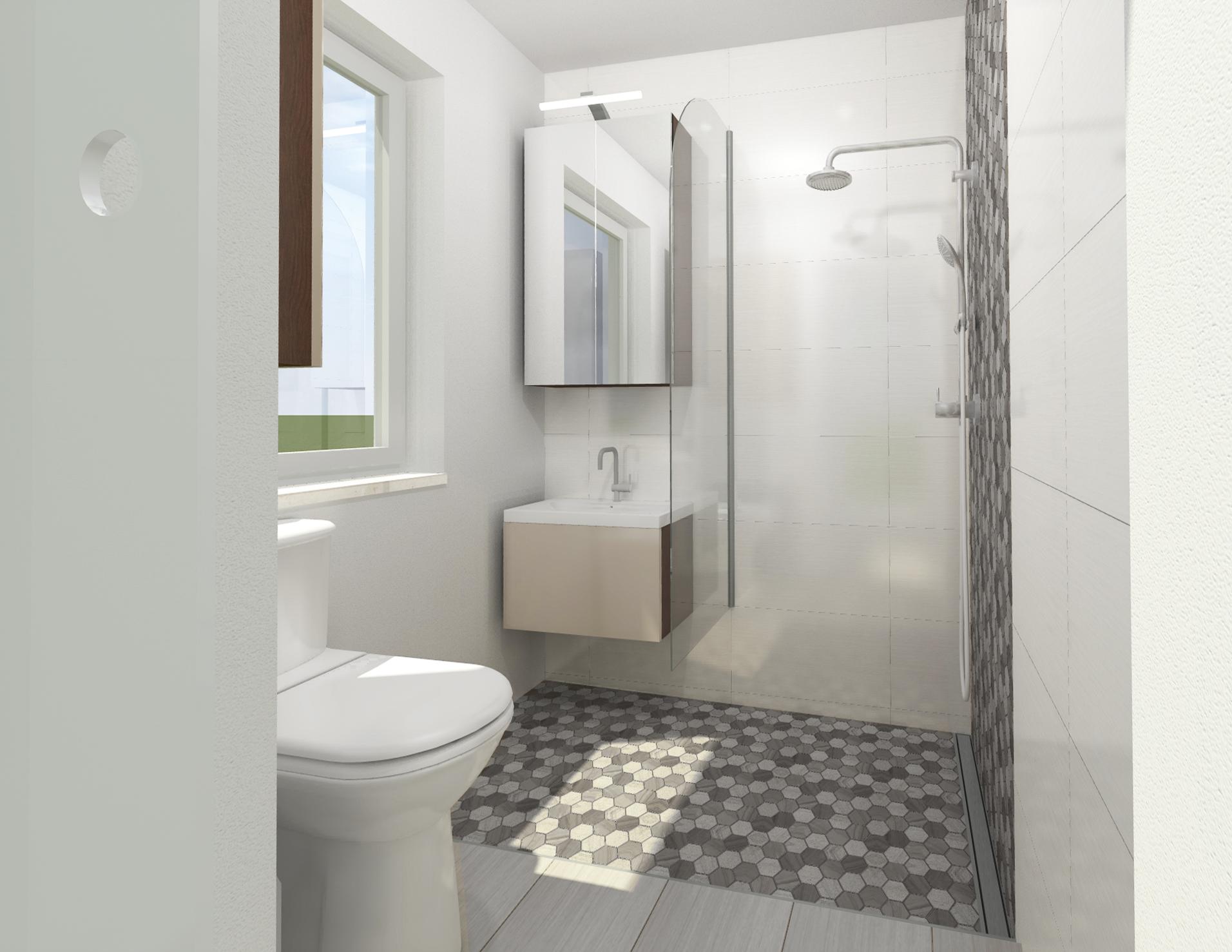 Planung und Umsetzung eines Badezimmers