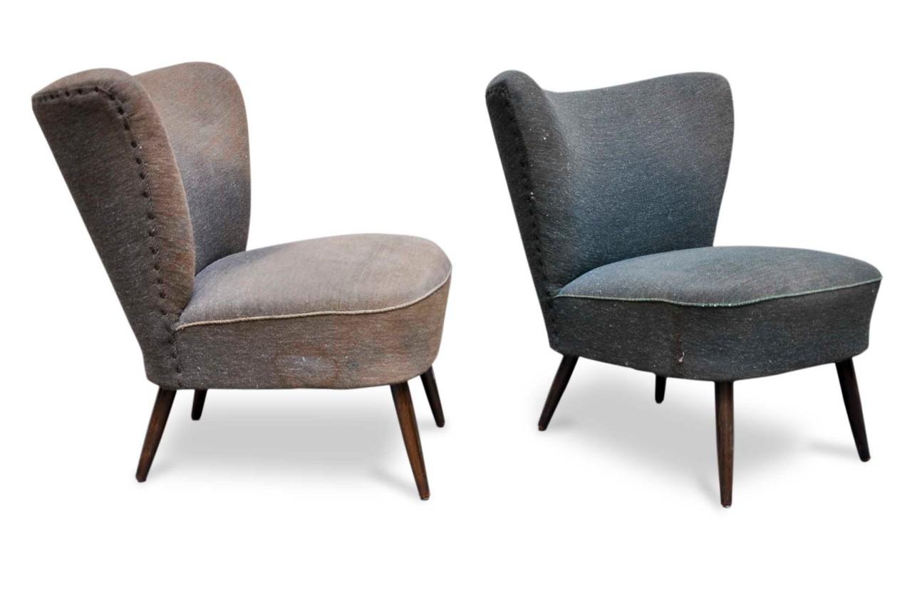 Sedie club chair vintage anni 50 italian vintage sofa for Sedie design vintage