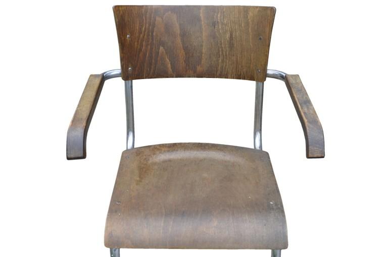 cantilever chair bauhaus mart stam thonet b43f