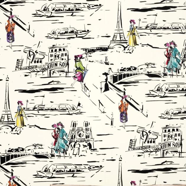 Carta da parati la parisienne Manuel Canovas