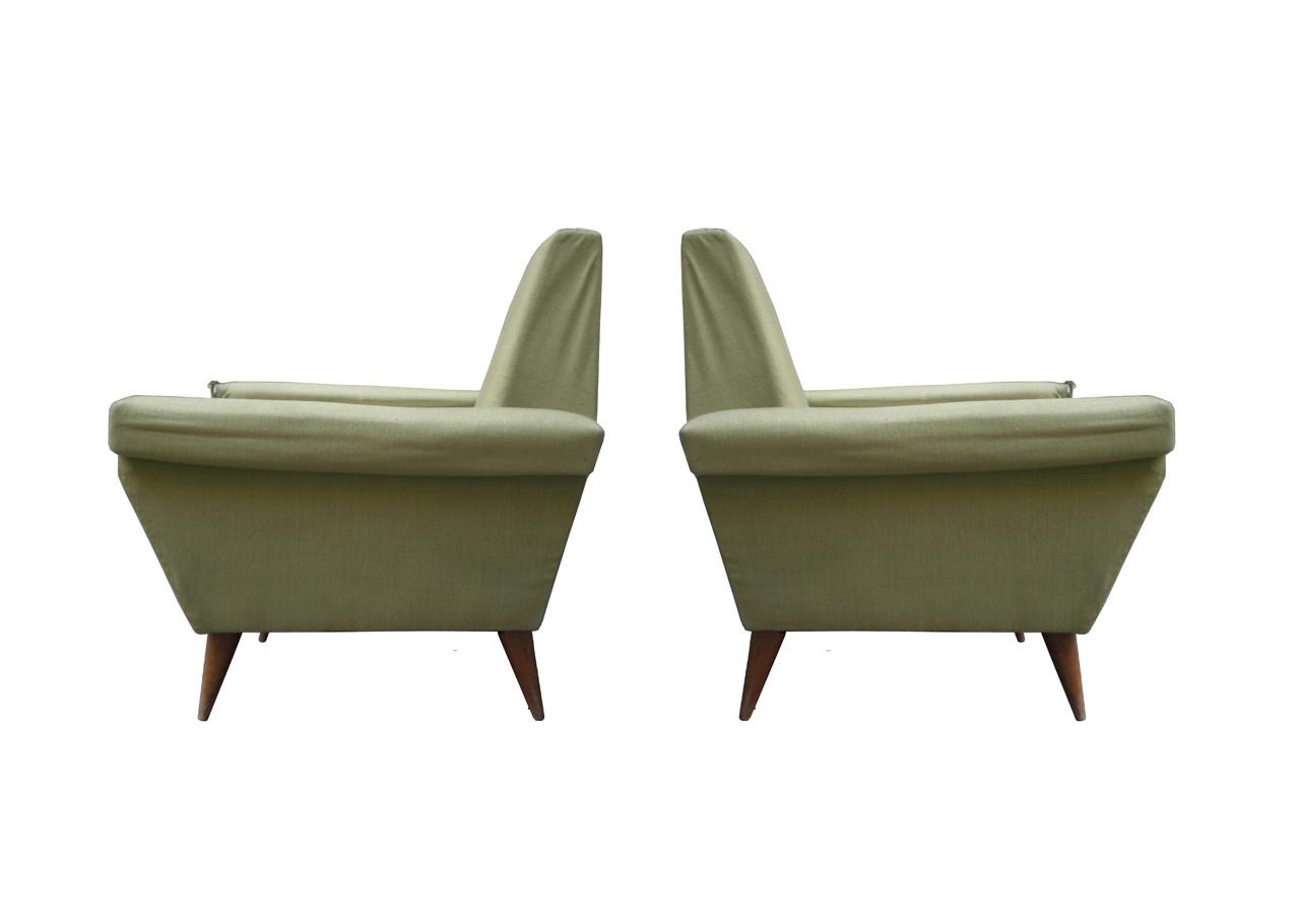 Anni 39 60 da restaurare italian vintage sofa - Poltrone vintage design ...