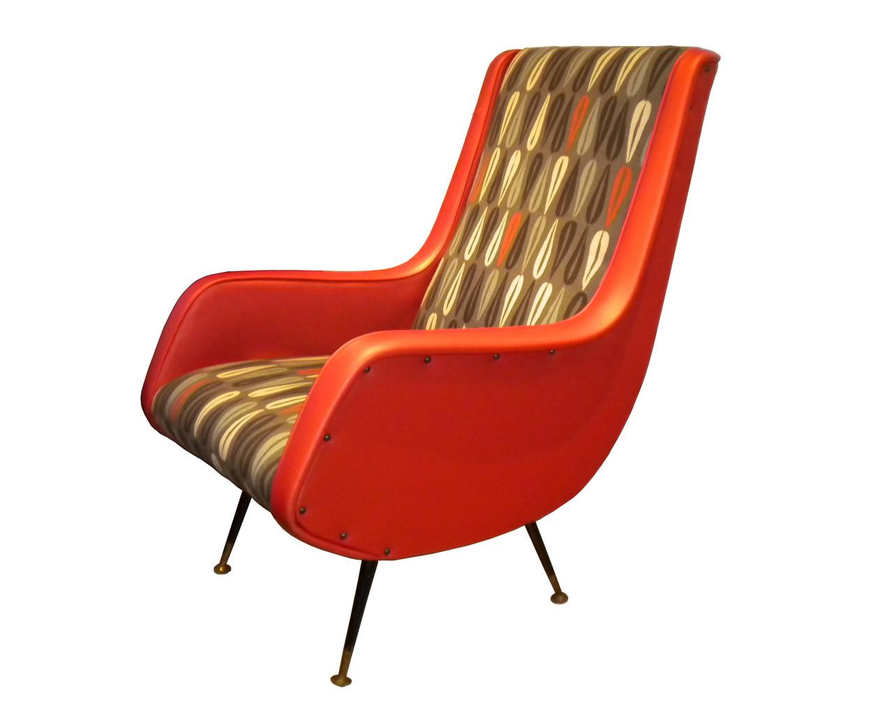 Anni '60 arancione - Italian Vintage Sofa