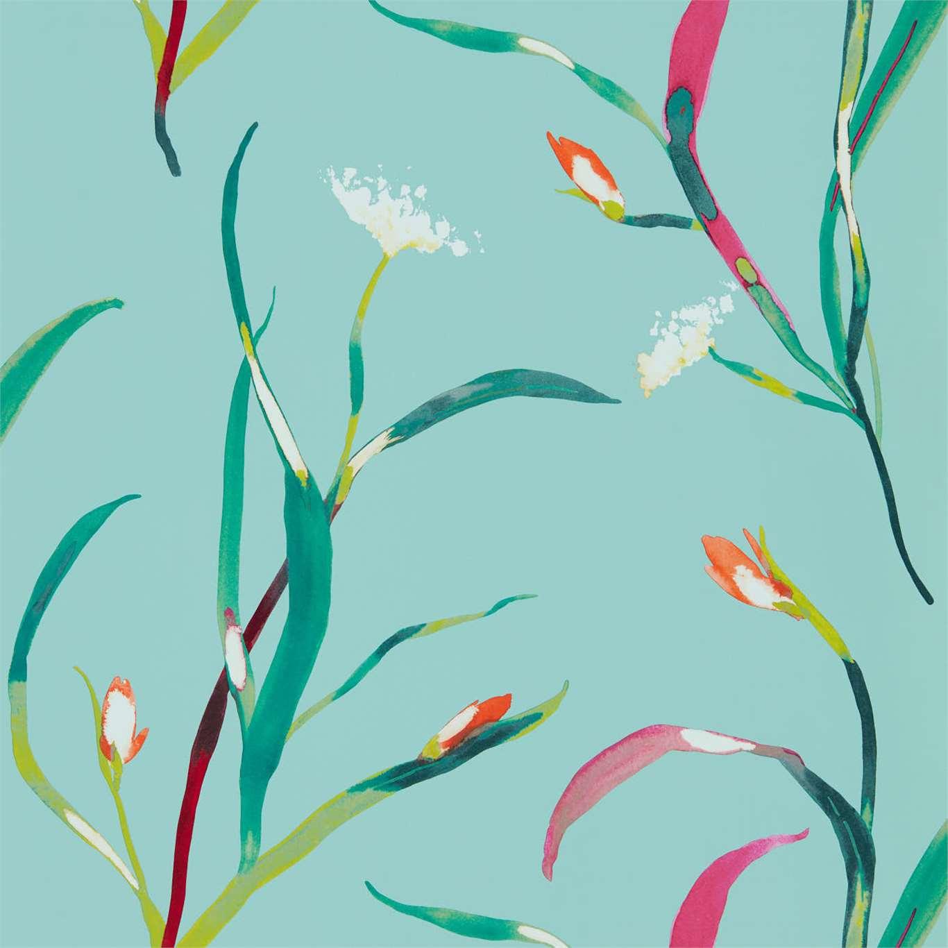 carta da parati a fiori