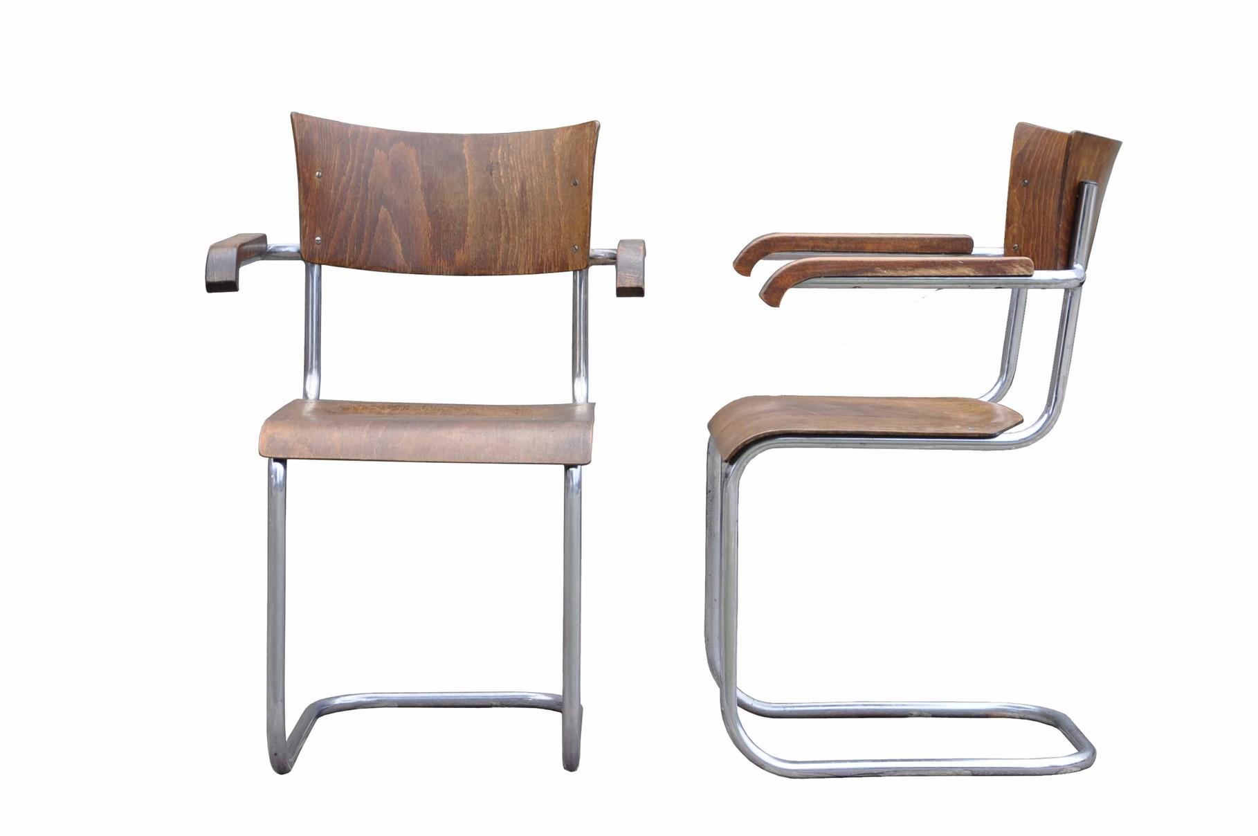 sedia cantilever bauhaus mart stam thonet b43f italian vintage sofa. Black Bedroom Furniture Sets. Home Design Ideas