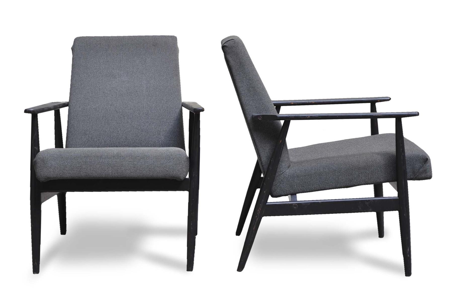 Poltrone anni \'50 stile scandinavo - Italian Vintage Sofa