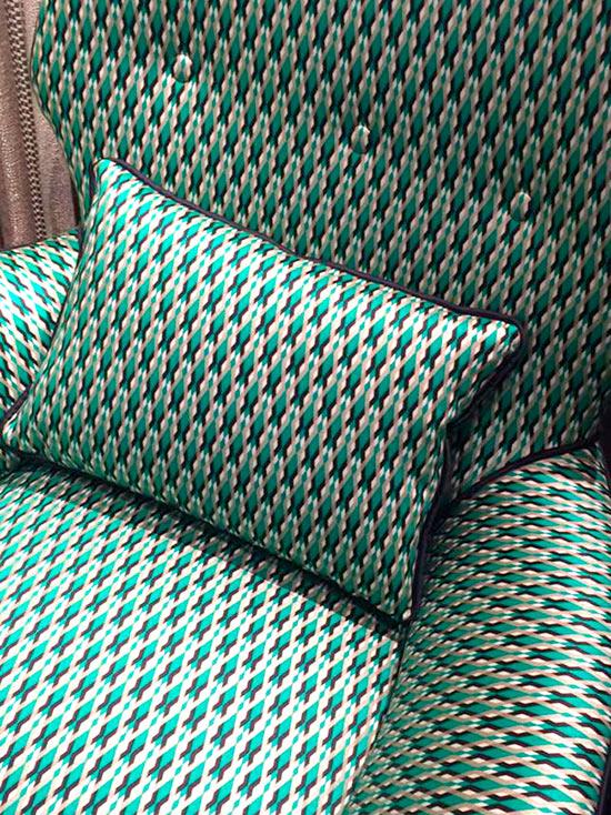 tessuti arredamento italian vintage sofa