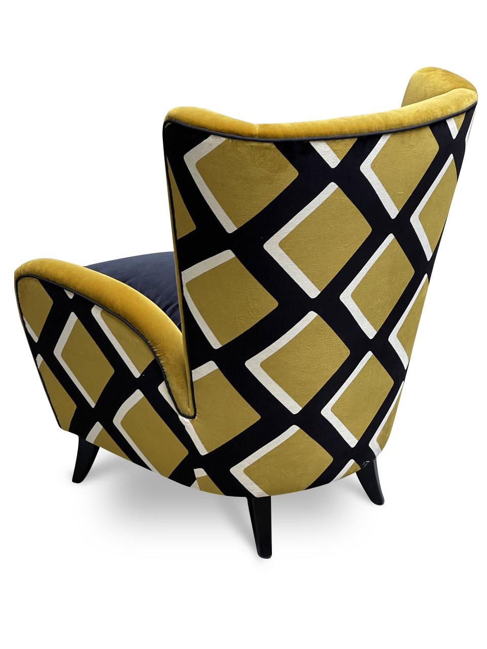 poltrone mid centuy rmodern armchair india
