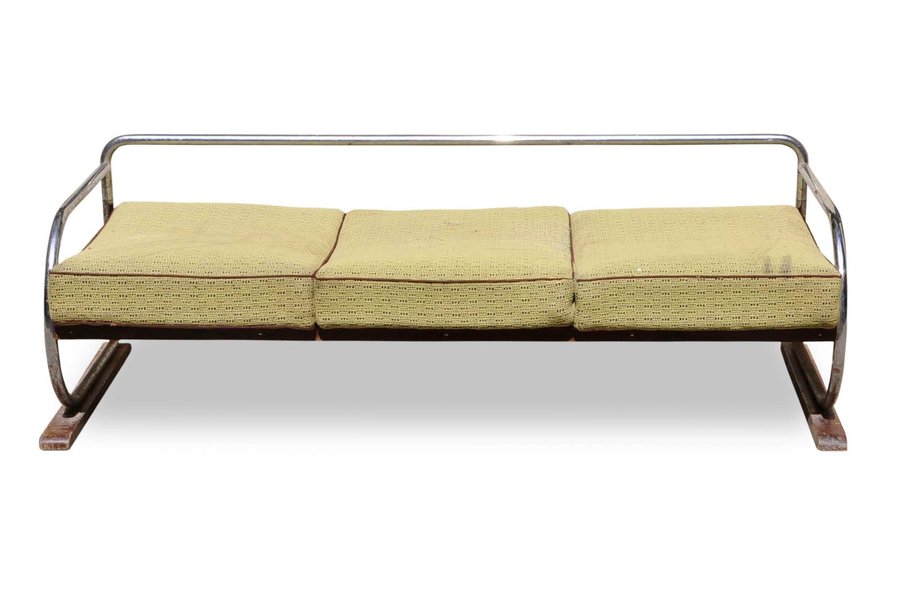 Bauhaus chrome sofa