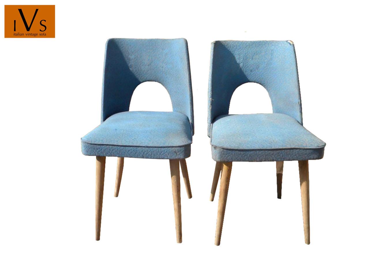 Sedie Club Chair Vintage Anni 50 Italian Vintage Sofa