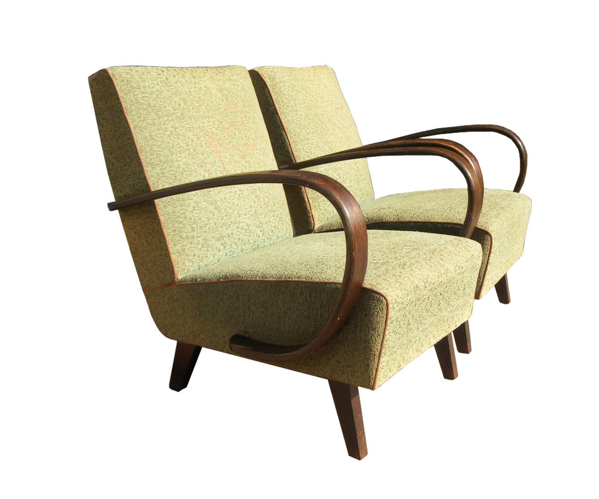 Poltrone Anni 30 Italian Vintage Sofa