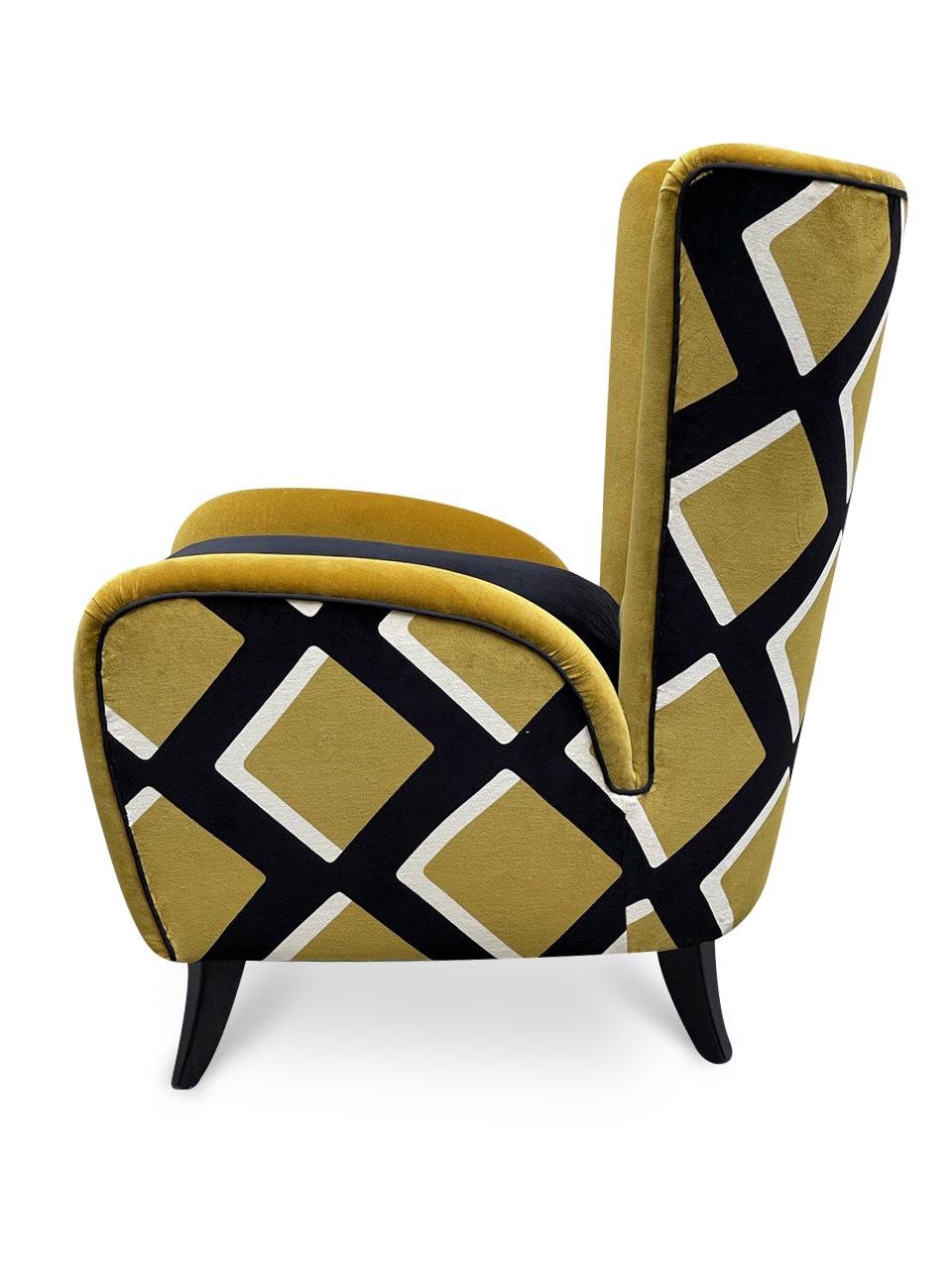 poltrone mid centuy rmodern armchair