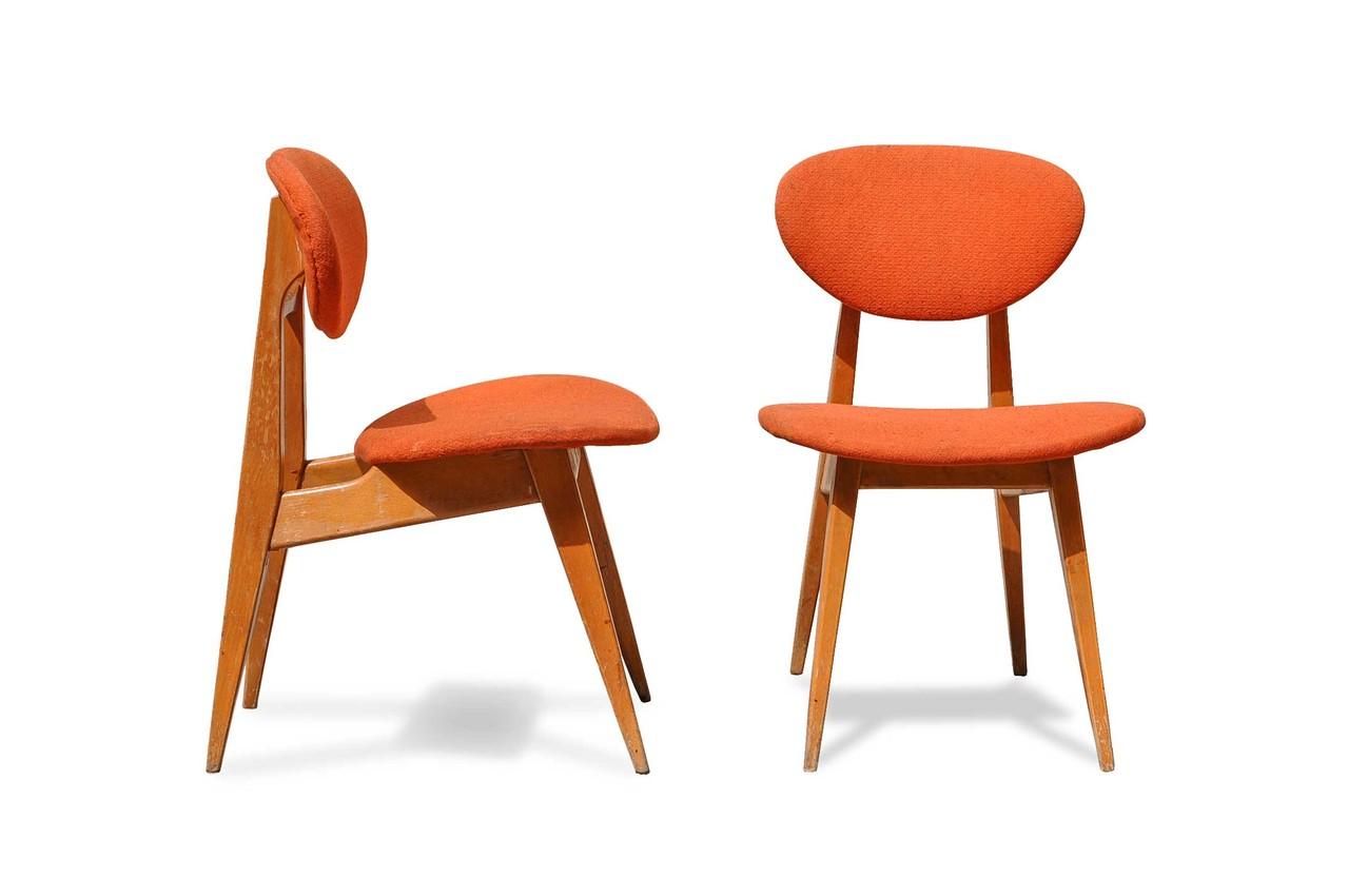 Sedie anni 39 60 design scandinavo italian vintage sofa - Sedie in legno design ...