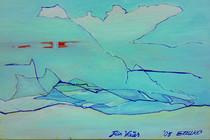 「父へ」 田中悦子 油彩30x40cm
