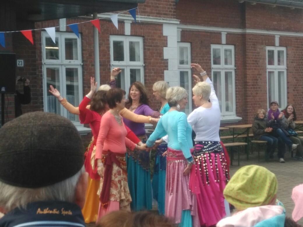 Orientalischer Tanz durch den SVG Pönitz