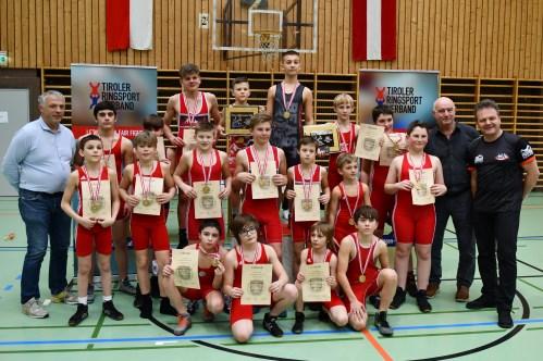 Alle Österreichischen Schülermeister - Griechisch Römisch (Foto: ÖRSV)