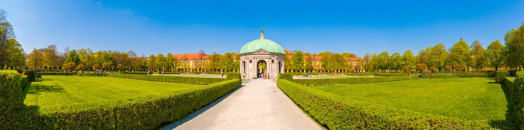 Residenzgarten Munich, Germany.