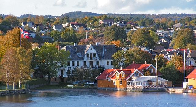 Город Ларвик, Норвегия