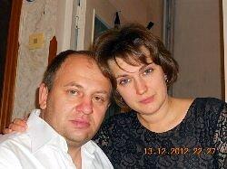 Евгений Донцов с супругой